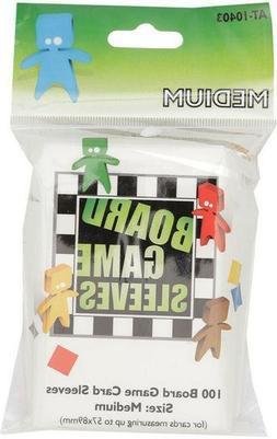 100 Board Games Sleeves Medium 2 1/4x3 1/2in American Varian