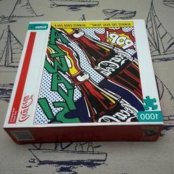 Buffalo Games 1000 Piece Puzzle - 'Coca Cola Bottle Pop' 26.