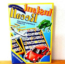 1997 Ravensburger Instant Recall Travel Size Memory Game Fac