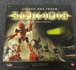 2001 Roseart Lego Bionicle Quest for Makuta Family Board Gam