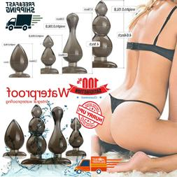 4PCS Set Sexual Game Butt Toys Anal Plug Medical Silicone Se