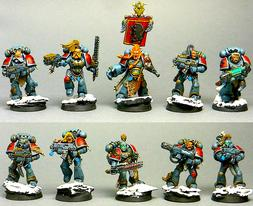 5 SPACE WOLVES: GREY HUNTERS/WOLF GUARD/LONG FANGS Games Wor