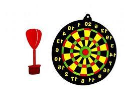 6 Dart Board Games - Pinata Toy Loot/Party Bag Fillers Kids