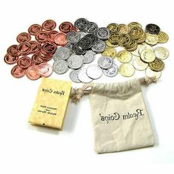 75 Realm Coins Fantasy Coins Game Real Metal Tokens Board Ga
