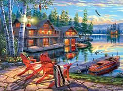 Buffalo Games - Darrell Bush - Loon Lake - 1000 Piece Jigsaw