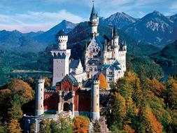 Buffalo Games - Majestic Castles - Neuschwanstein Castle Bav