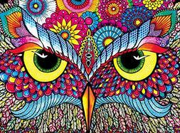 Buffalo Games - Vivid Collection - Owl Eyes - 1000 Piece Jig