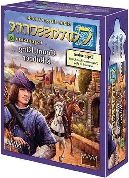 Count, King & Robber Carcassonne Expansion #6 Board Game Z-M