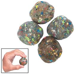 "Fun Express Rubber Rock Bouncing Balls -  Rubber. 1 1/2"""