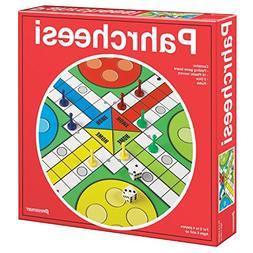 Pressman Toy Pahrcheesi in Box, Red