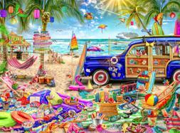 Buffalo Games - Aimee Stewart - Beach Vacation - 1000 Piece