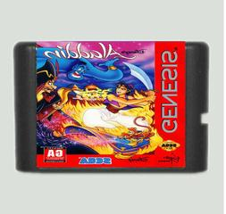 Aladdin 16 Bit Game Card For Sega Mega Drive & Sega Genesis