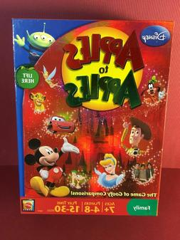 DISNEY APPLES TO APPLES Family Board Game~New in Box