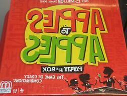 Apples to Apples: Party Box - Mattel Games Board Game New!