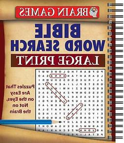 Brain Games - Bible Word Search Large Print