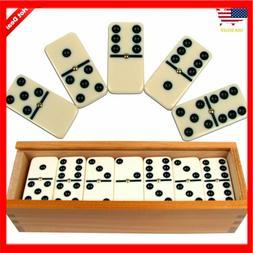 Big premium jumbo double six dominoes domino thick set of 28