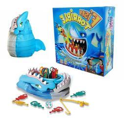 Fish Torrible Board Game Kids Toy Family Fun Shark Biting