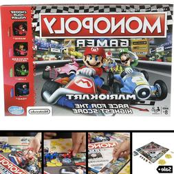 Monopoly Board Games Gamer Mario Kart Edition For Millennial