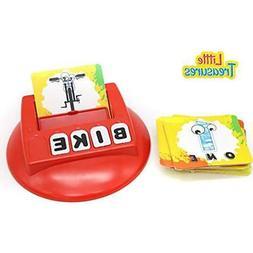 Board Games Little Treasures Literacy Card - Kids Learn To S