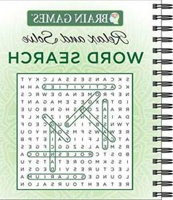 Brain Games - Relax and Solve: Word Search Spiral-bound –