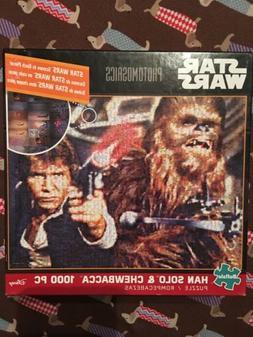 Buffalo Games Star Wars Photomosaic: Han Solo and Chewbacca