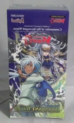 CARDFIGHT VANGUARD TCG INCESSANT WAVES 12 PACK BOOSTER BOX B