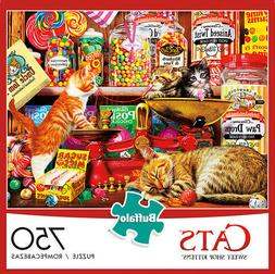Buffalo Games - Cats Collection -Sweet Shop Kittens - 750 Pi