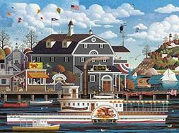 Buffalo Games - Charles Wysocki - Fairhaven by the Sea - 100