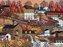 Buffalo Games - Charles Wysocki - Waterfall Valley - 1000 Pi