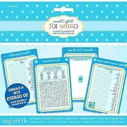 Amscan Charming Welcome Little One Boy Party Game Kit Baby S