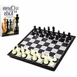 Chess Board For Kids With Book Beginners - Set Learning Bund