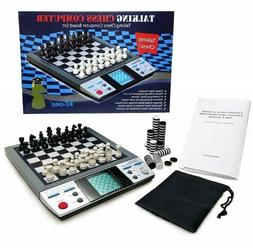 Chess and Checkers Set Eelectronic Learning Toys with 8-In-1