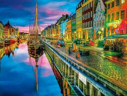 Buffalo Games - Cities In Color - Copenhagen - 750 Piece Jig