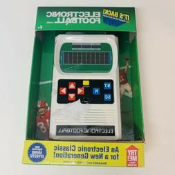 Mattel Classic Electronic Football Handheld Video Game Brand