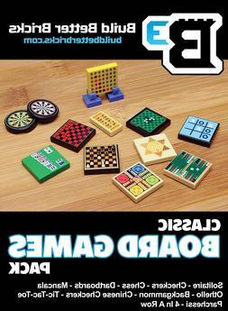 Custom LEGO Classic Board Games Pack