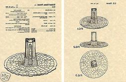 DARK TOWER GAME PATENT Art Print READY TO FRAME!!!! 1981 Mil