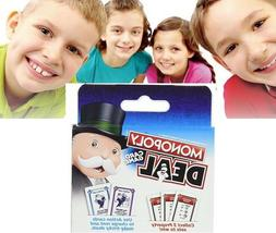 Monopoly Deal Card Game All Family Fun Kids Teens Adults Tab