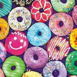 Buffalo Games - Delightful Donuts - 300 Large Piece Jigsaw P