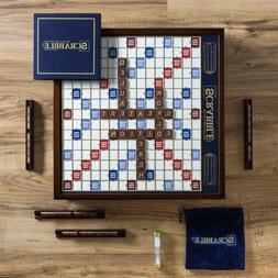 Scrabble Deluxe Wooden Edition, 15.75 in.