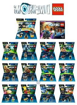 LEGO DIMENSIONS STORY, LEVEL AND FUN PACKS PS3 PS4 XBOX 360