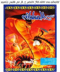 Disney's Aladdin PC Mac Linux Game Disney 1993 Windows XP Vi