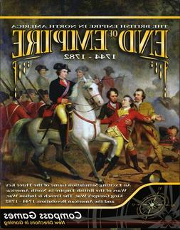 Compass Games End of Empire: 1744-1782 New IN Shrink Wrap Fa