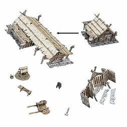 Battle Systems Fantasy Terrain Northern Settlement Accessori