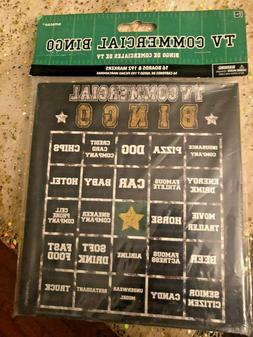 Football Sports Themed TV Commercial Bingo Game 16 boards &