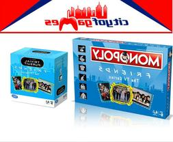 Friends The TV Series Monopoly & Trivial Pursuit Board Game