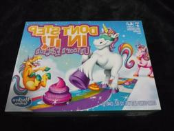 Hasbro Gaming Don't Step In It Unicorn Edition Board Game! H