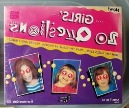 GIRLS 20 QUESTIONS BOARD UNIVERSITY GAMES 1996 VINTAGE SEALE