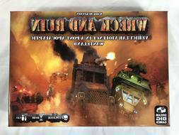 Kickstarter WRECK & RUIN vehicular violence  board game - NE