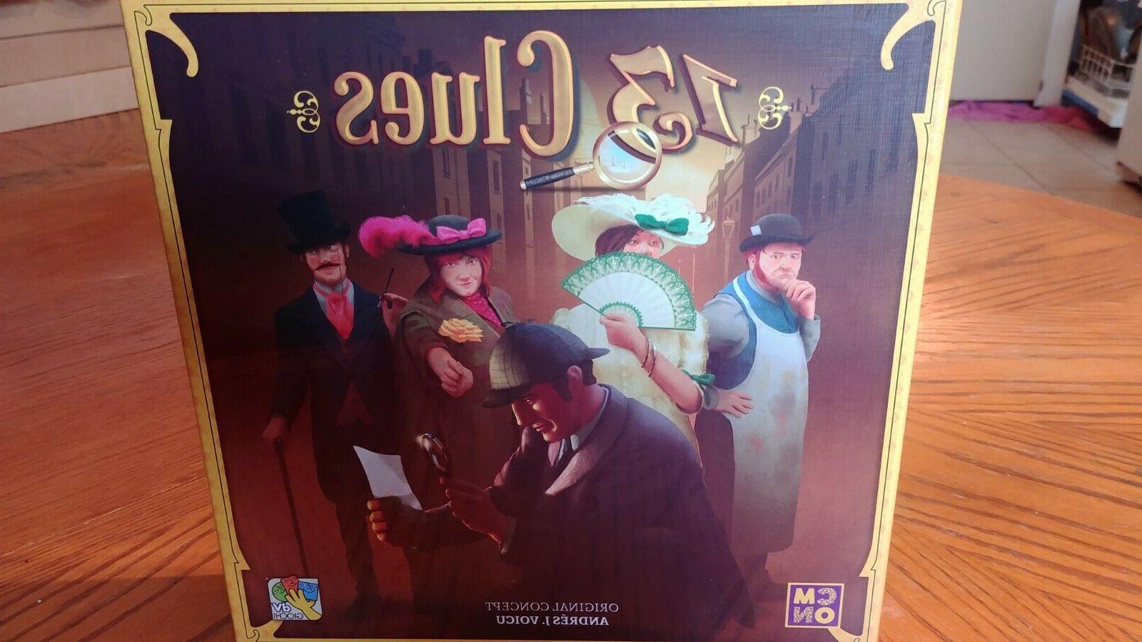 13 CLUES BOARD CMON GAMES