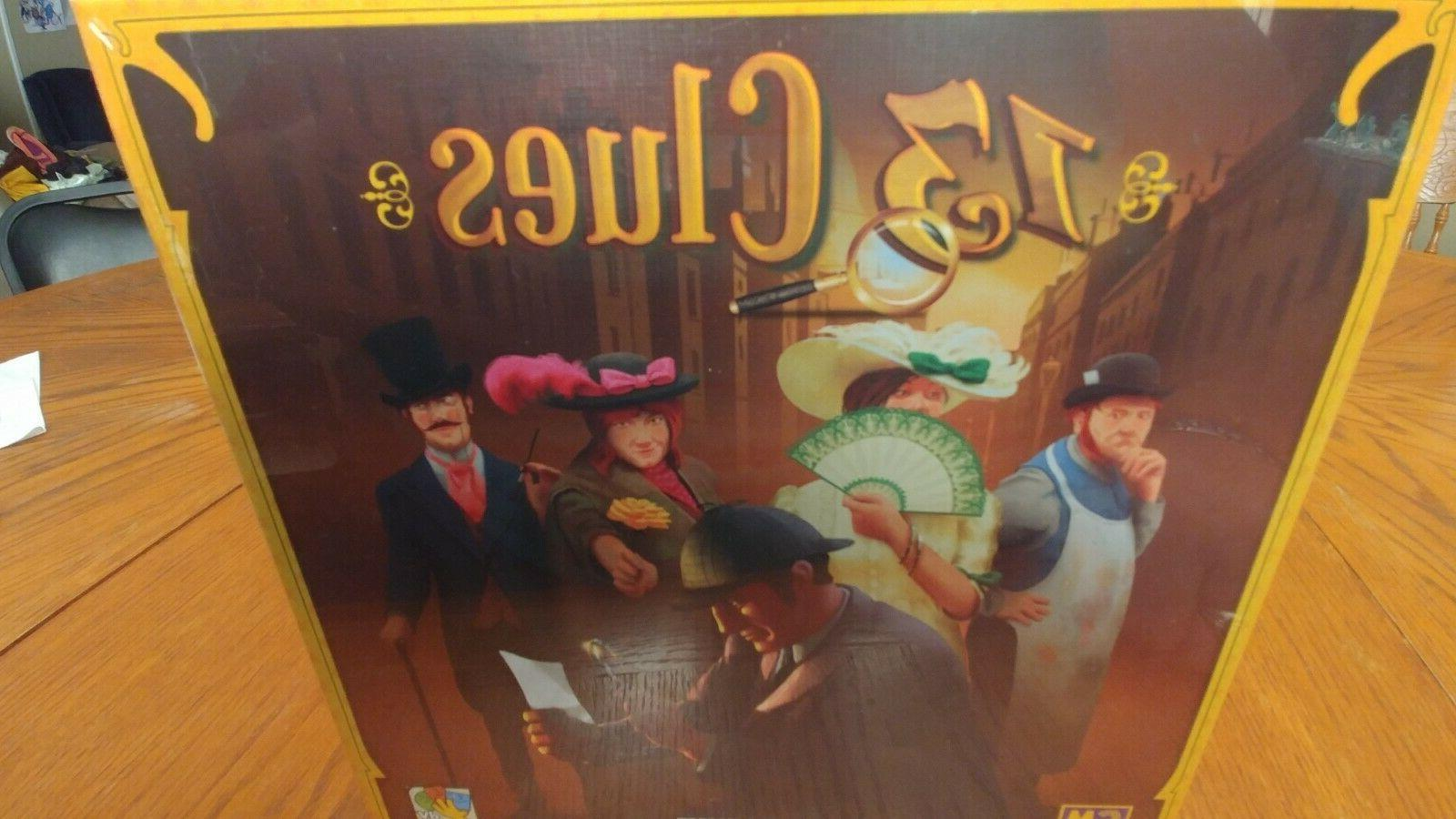 13 clues board game games scotland yard